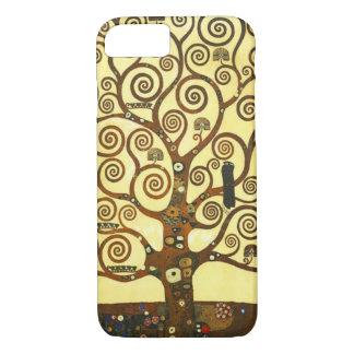 Capa iPhone 8/7 Árvore de Gustavo Klimt do caso do iPhone 7 da