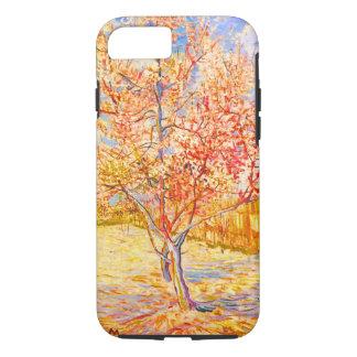 Capa iPhone 8/7 Árvore de pêssego de Vincent van Gogh no vintage