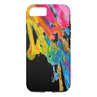 Capa iPhone 8/7 as cores da cor do splatter da pintura classificam