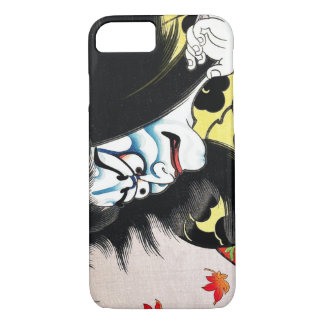 Capa iPhone 8/7 Ator oriental legal do kabuki de Togakushi do