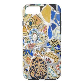 Capa iPhone 8/7 Azulejos amarelos de Gaudi
