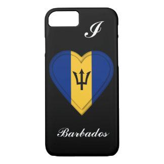 Capa iPhone 8/7 Bandeira de Barbados