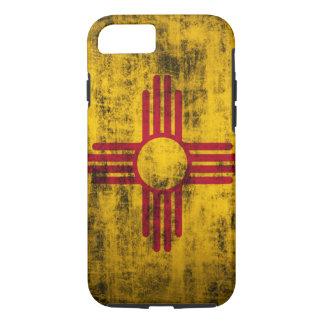 Capa iPhone 8/7 Bandeira de New mexico do Grunge