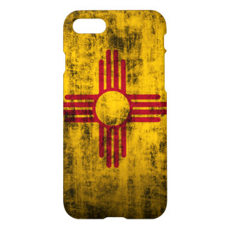 Capa iPhone 8/7 Bandeira de New mexico do Grunge