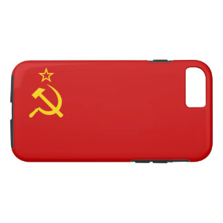 Capa iPhone 8/7 Bandeira de URSS