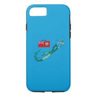 Capa iPhone 8/7 Bandeira e mapa de Bermuda