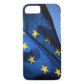 Capa iPhone 8/7 Bandeira HD da União Europeia de E. -