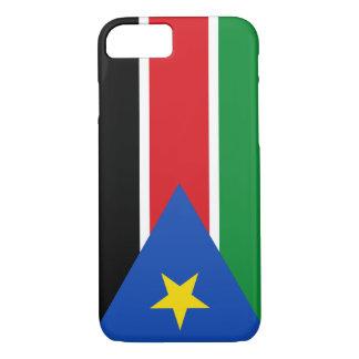 Capa iPhone 8/7 Bandeira sul de Sudão