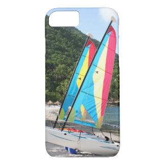 Capa iPhone 8/7 Barco de navigação e material desportivo da água