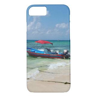 Capa iPhone 8/7 Barco no Playa del Carmen em México