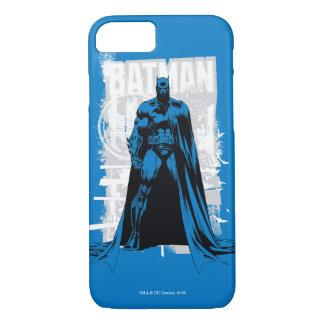 Capa iPhone 8/7 Batman cómico - vintage de vista completa