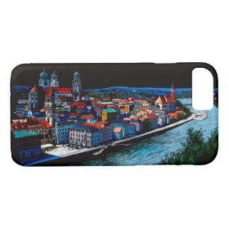 Capa iPhone 8/7 bavaria Passau Germany skyline architecture