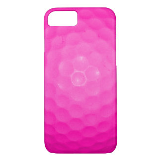 Capa iPhone 8/7 Bola de golfe cor-de-rosa