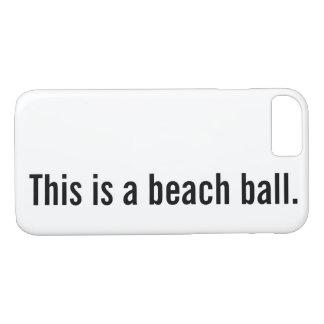 Capa iPhone 8/7 bola de praia