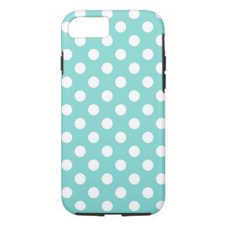 Capa iPhone 8/7 Bolinhas azuis