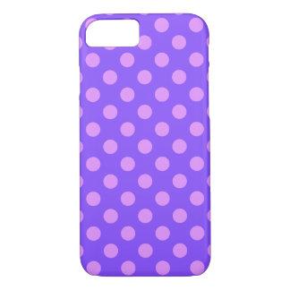 Capa iPhone 8/7 Bolinhas do Lilac na pervinca