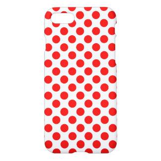 Capa iPhone 8/7 Bolinhas vermelhas