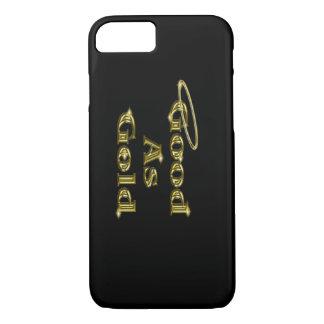 Capa iPhone 8/7 Bom como o ouro