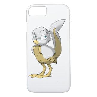 Capa iPhone 8/7 Branco/pássaro Reptilian do ouro