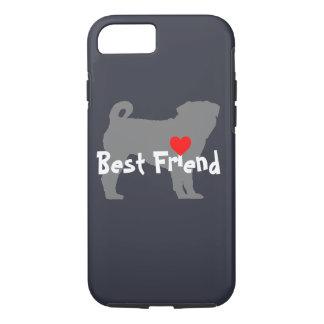 """Capa iPhone 8/7 Buldogue """"melhor amigo """""""