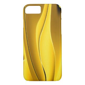 Capa iPhone 8/7 Caixa abstrata elegante do ouro