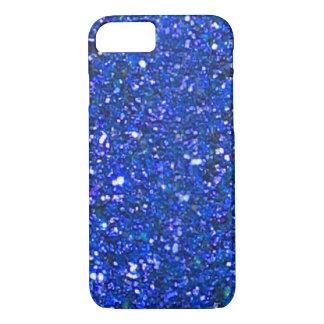 Capa iPhone 8/7 Caixa azul lindo do iPhone 7 do brilho da VENDA