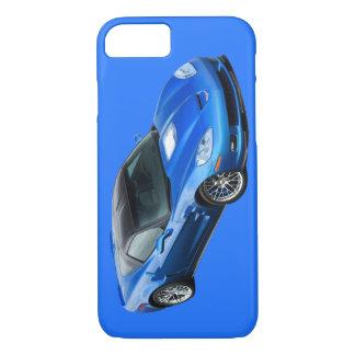 Capa iPhone 8/7 Caixa azul supersónico do iPhone 6 de ZR1 Corveta