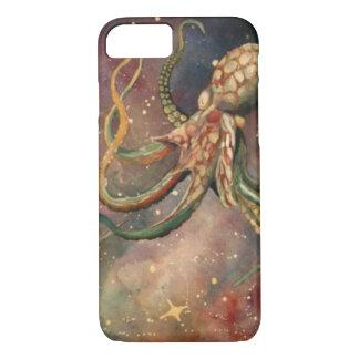 Capa iPhone 8/7 Caixa colorida legal bonita do iPhone 6 do polvo