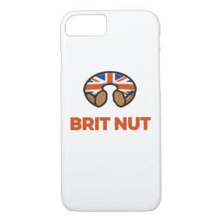 Capa iPhone 8/7 Caixa da rosquinha da porca do Británico