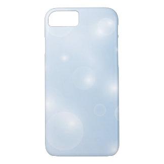 Capa iPhone 8/7 Caixa de brilho das bolhas