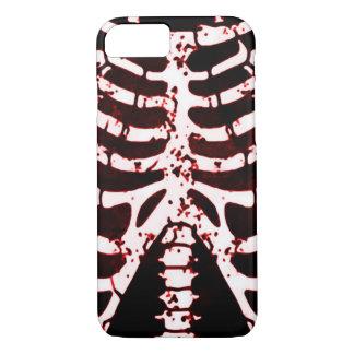 Capa iPhone 8/7 Caixa de esqueleto vermelha do iPhone 6