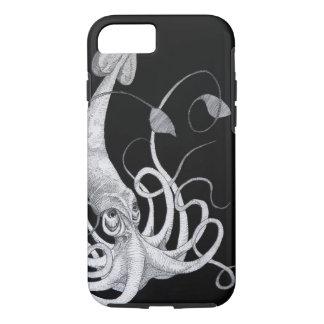 Capa iPhone 8/7 Caixa do calamar do mar profundo