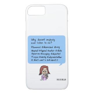 "Capa iPhone 8/7 caixa do telefone e da tabuleta do ""#hashflag"""
