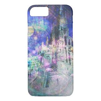 Capa iPhone 8/7 Caixa mágica bonito do castelo da fantasia do
