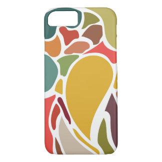 Capa iPhone 8/7 Caixa multicolorido abstrata do iphone 6