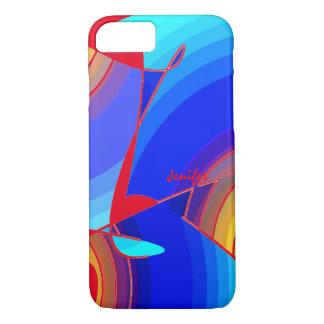 Capa iPhone 8/7 Caixa multicolorido para o iPhone 6