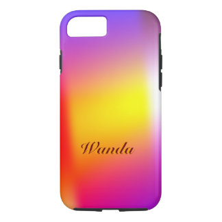 Capa iPhone 8/7 Caixa resistente multicolorido do iPhone 6 de