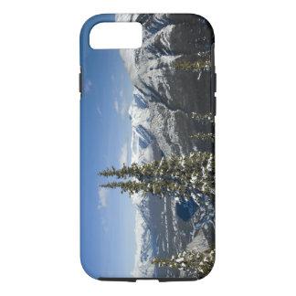 Capa iPhone 8/7 Canadá, Alberta, Banff. Vistas do vale do arco