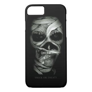 Capa iPhone 8/7 Cara do zombi do Dia das Bruxas