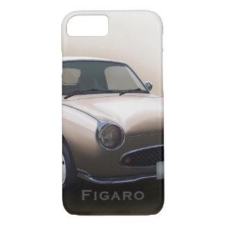 Capa iPhone 8/7 Carro de Nissan Figaro da névoa do topázio