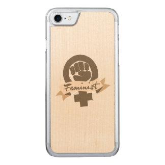 Capa iPhone 8/ 7 Carved Símbolo feminista