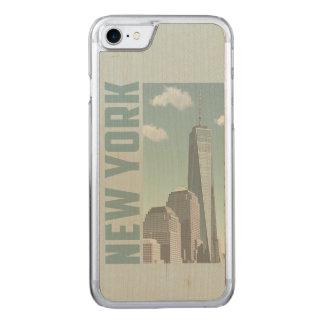 Capa iPhone 8/ 7 Carved Skyline de New York