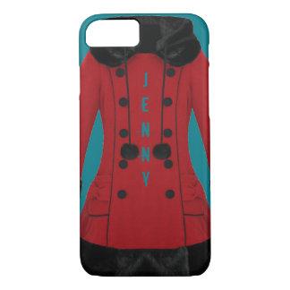 Capa iPhone 8/7 Casaco vermelho