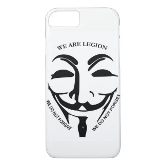 Capa iPhone 8/7 Caso anónimo de Iphone 7