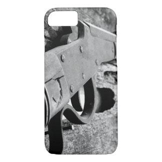 Capa iPhone 8/7 Caso antigo do telemóvel da arma