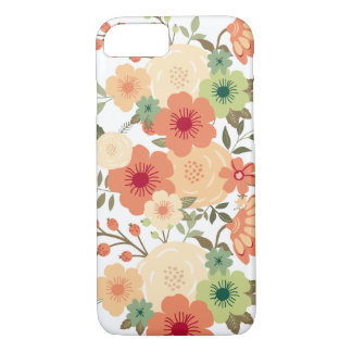 Capa iPhone 8/7 Caso botânico do iPhone 7 da flor