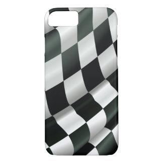 Capa iPhone 8/7 Caso Checkered de ondulação moderno do iPhone 6 da