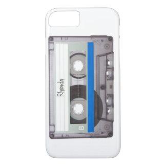 Capa iPhone 8/7 Caso customizável do iPhone 7 da cassete de banda