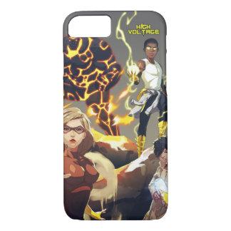 Capa iPhone 8/7 Caso de alta tensão do iPhone 6/6s dos heróis