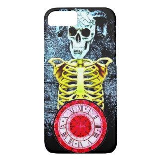 Capa iPhone 8/7 Caso de esqueleto do iPhone 7 do demónio